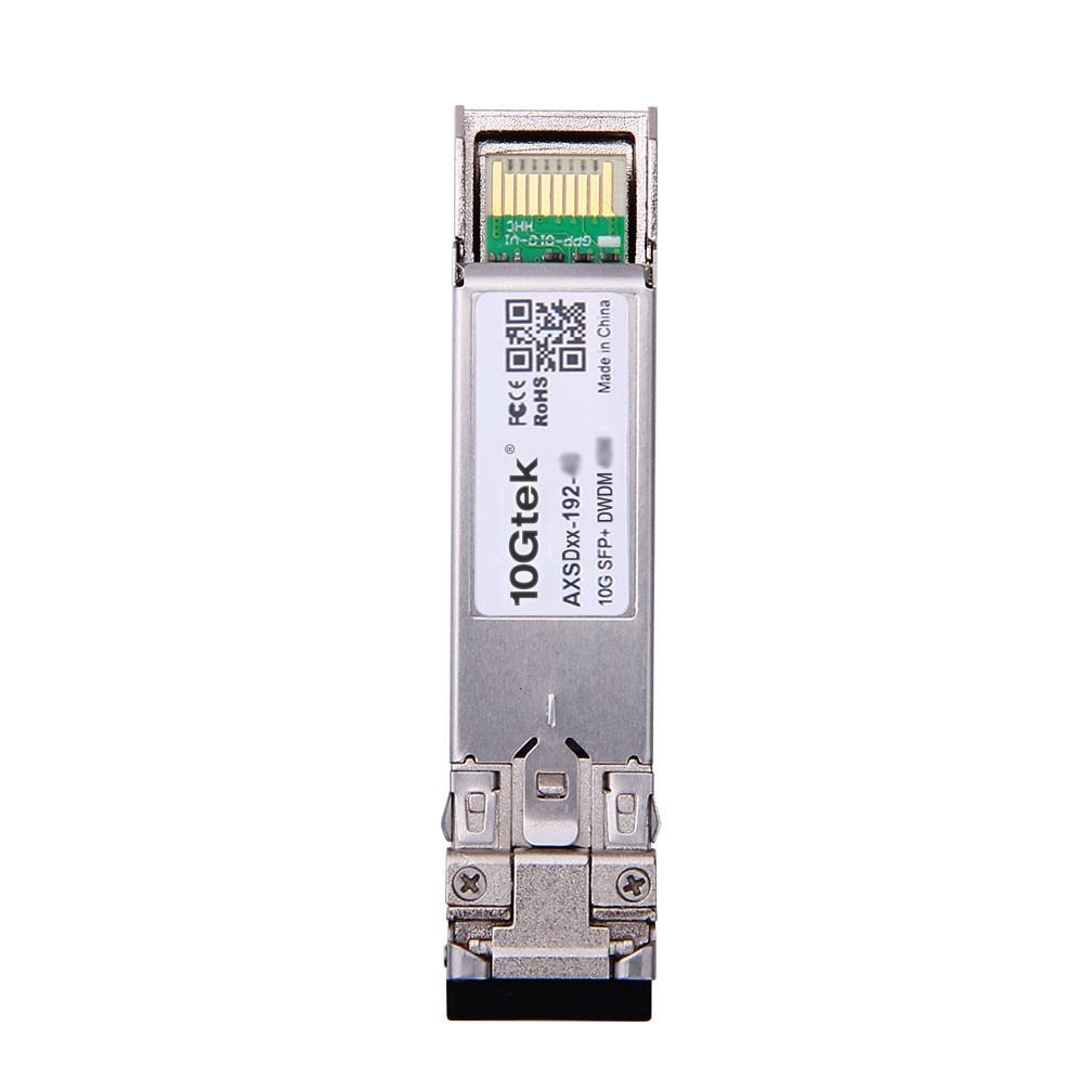 SFP+ Transceiver 10Gb/s DWDM, 40 km to 80 km