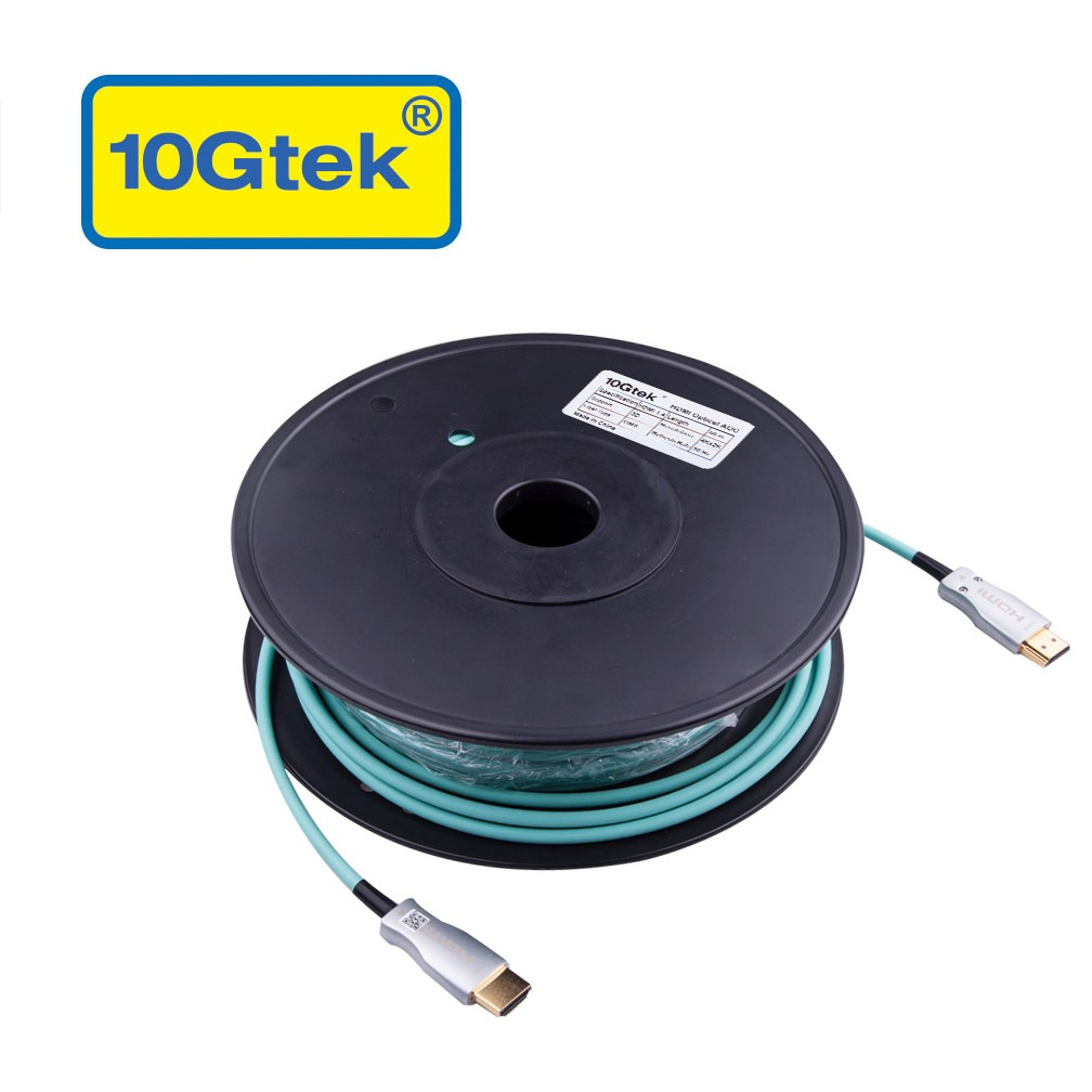 HDMI AOC, Full Optical Cable, 50-meter, Support HDMI 1.4, HDMI 4K 30Hz