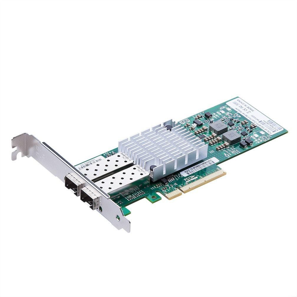 Dual SFP+ 10Gigabit Ethernet Converged Network Adapter, PCI-E X8, MCX312B-XCCT controller