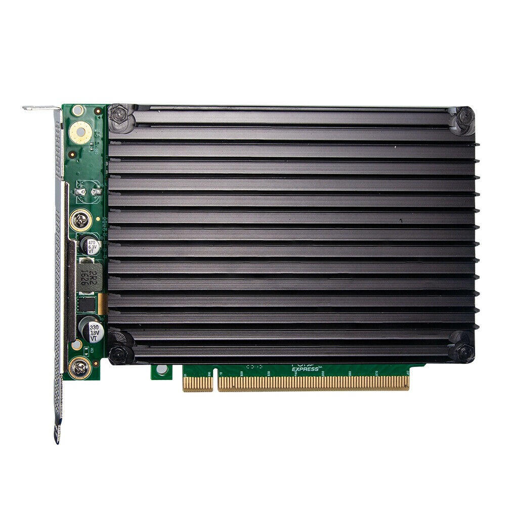 NVMe SSD Adapter Card for M.2, X16, (4) M.2(M Key) connectors