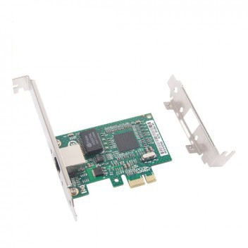 1.25G Network Card, Single RJ45 port, X1 Lane, Brocade BCM5751 equivalent