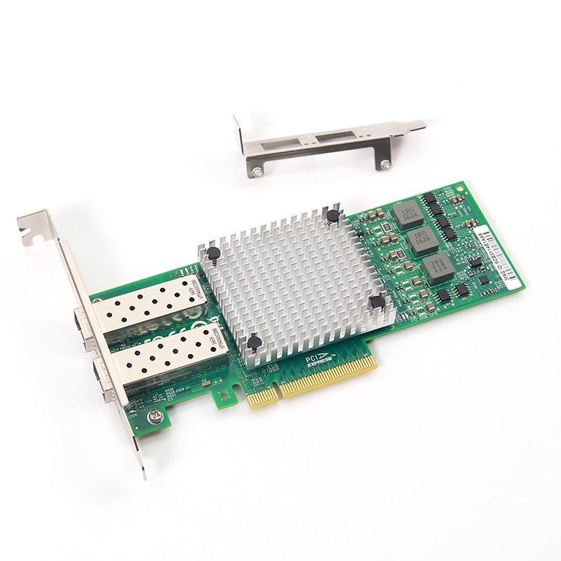 10G Network Card, Dual SFP+ port, X8 Lane, HP 530 SFP+ equivalent