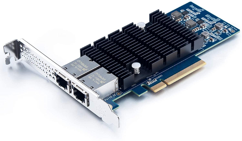 10G Network Card, Dual RJ45 port, X8 Lane, Intel X540-T2 equivalent