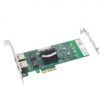 1.25G Network Card, Dual RJ45 port, X4 Lane, Intel E1G42ET equivalent