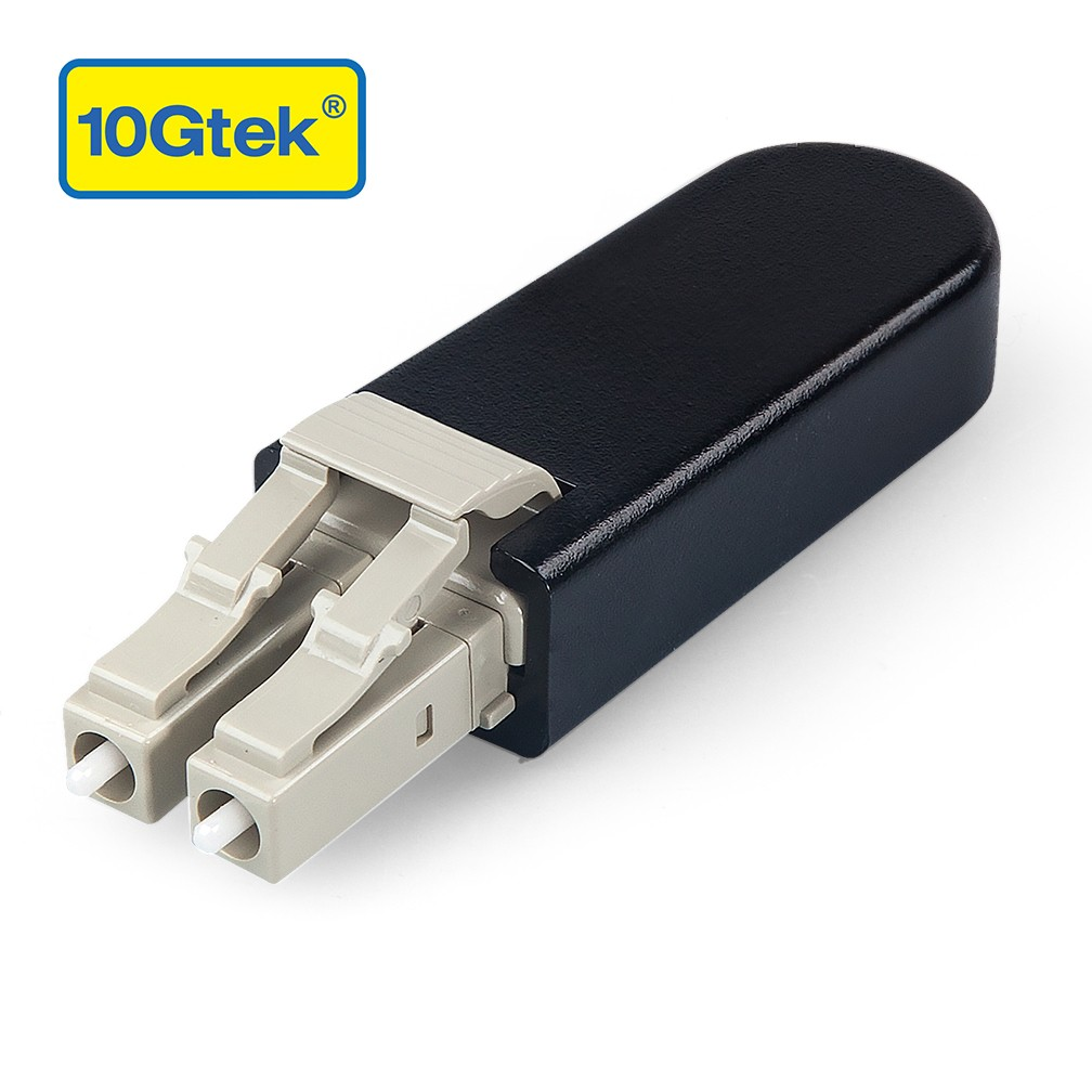 LC/UPC Fiber Optic Loopback Adapter, LC Connector, Multimode 50/125μm Test Plug for Testing Applications