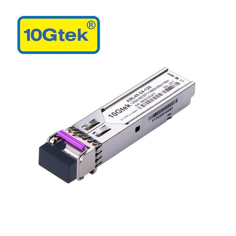 1.25Gb/s BiDi SFP Tx1490/Rx1550nm, 120KM