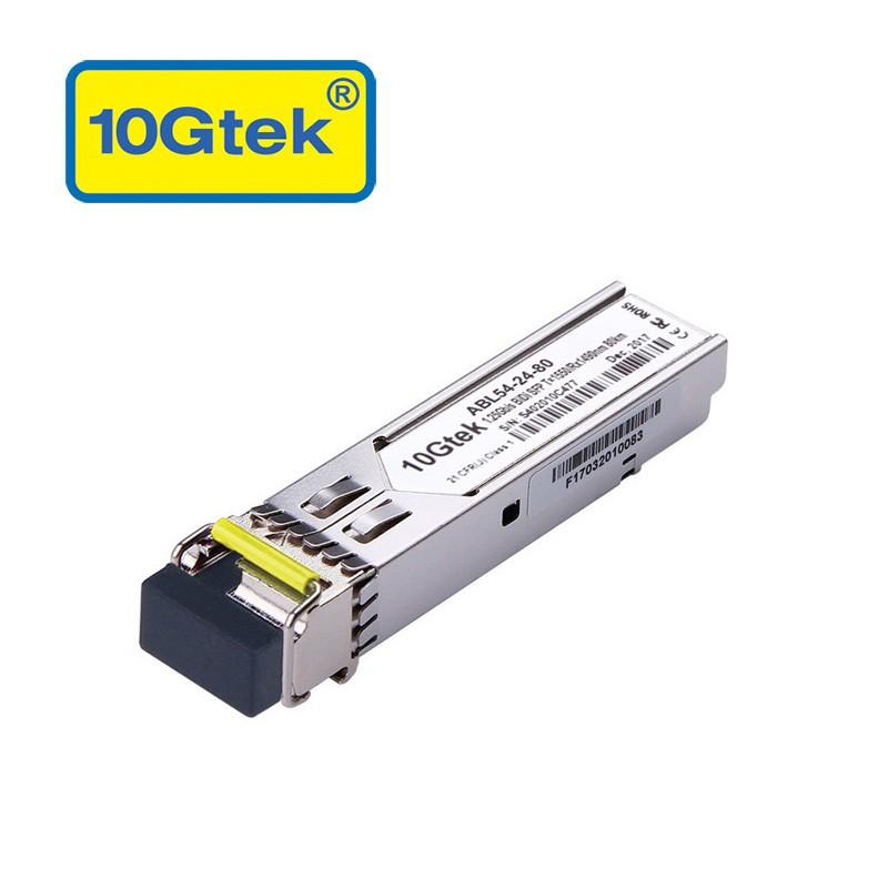 1.25Gb/s BiDi SFP Tx1550/Rx1490nm, 80KM