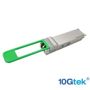 For Extreme 10404, 100Gb optical connection using LC duplex optical connectors over single-mode fiber at distances up to 2 km.