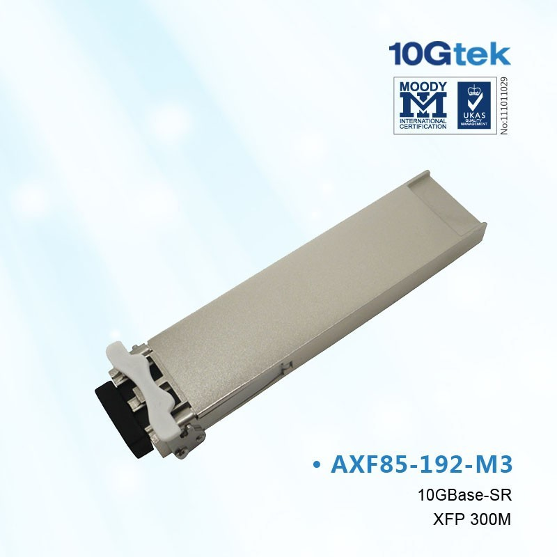 For Juniper, EX-XFP-10GE-SR, compatible XFP 10GBASE-SR 850nm; MMF; 300m