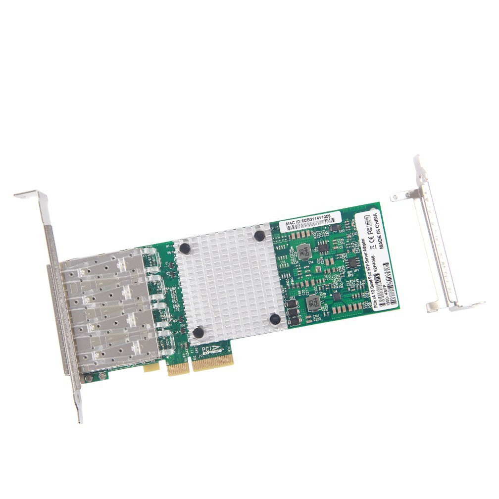 1Gb/s Ethernet Network Adapter, compatible for Intel I350-F4