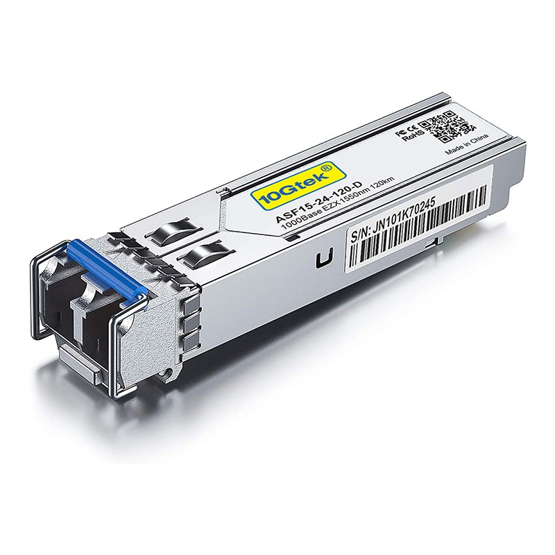 1.25G SFP 1000Base-EZX, 1550nm SMF, up to 120 km Compatible for Edgecore/Accton *