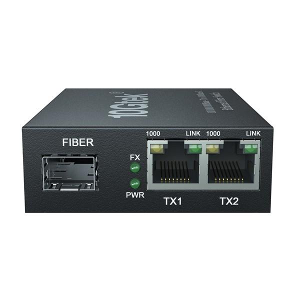 3-Port Gigabit Ethernet Switch- with 1 SFP slots -1000M- Unmanaged
