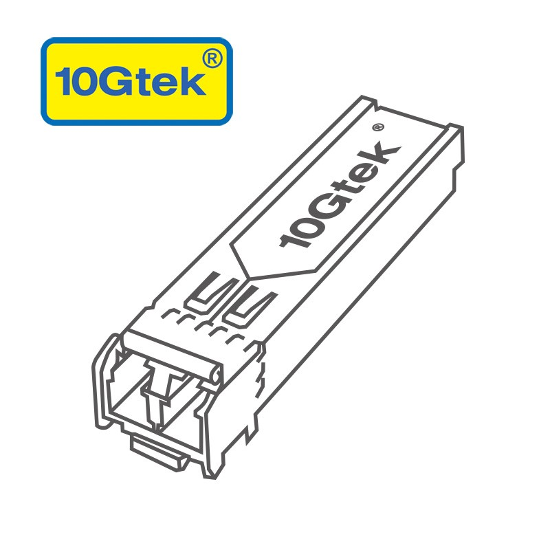 1.25Gbps CWDM SFP, 80km, 1610nm Single-Mode Optical Transceiver