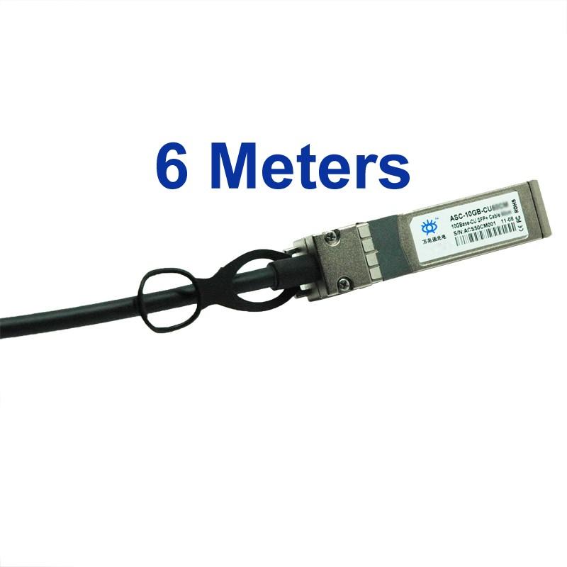 SFP+ DAC Twinax Cable 6m, Passive