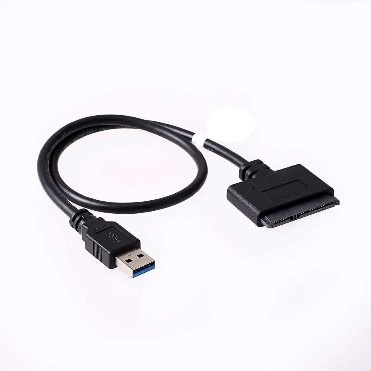 """USB 3.0 to SATA-II Adapter, for 2.5"""" /1.8"""" HDD SSD, up to 5Gbps, 0.5M"""