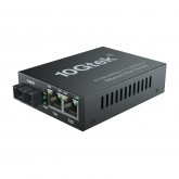 3-Port 1.25G Desktop Fiber Switch, with SC Fiber, 20 km