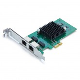 1.25G Network Card, Dual RJ45 port, X1 Lane, Compare to Intel E1G42ET