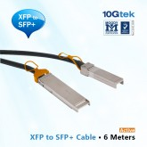 10GbE XFP to SFP+ Cable 6M, Active