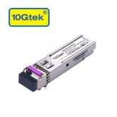 1.25Gb/s BiDi SFP Tx1490/Rx1550nm, 80KM, with DDM