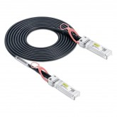For Brocade, XBR-TWX-0101, 10 Gbps SFP+ direct-attached cables, 1 m Twinax copper Active cable