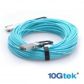 MFA1A00-C010, active fiber cable, ETH 100GbE, 100Gb/s, QSFP, 10m