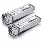 A Pair of 10G SFP+ Bidi Transceivers, up to 20 km