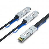200G QSFP-DD to 2x100G QSFP28 Breakout DAC, Passive, 0.5~2meters