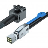 SFF-8644 to SFF-8643 SAS Cable, 0.5~1 meter