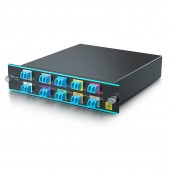 8 Channels Dual LC CWDM MUX/DEMUX 1470~1610nm, Monitor Port, IL<2.75dB | CWDM-MUX8A=