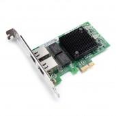 1.25G NIC Network Card, Dual RJ-45 Port, with Intel E810- XXVAM2 controller, support Windows Server/FreeBSD/VMware/SLSE