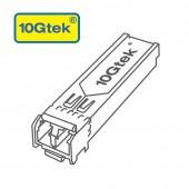 GMII 100/1000M SFP, 1310nm single-mode, up to 10 km, compatible with Cisco GLC-GE-100FX