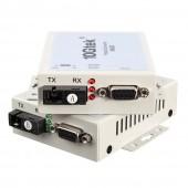 A Pair RS-232 to 155M Protocol Converter, SC Fiber 20-km