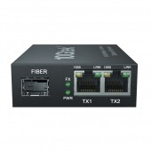 3-Port Gigabit Ethernet Switch- with 1 SFP slots -1000M- Unmanaged