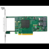 PCIe to NVMe Expansion Card for U.2 SSD (PEX 8724), X8, (2) SFF-8643