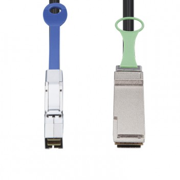 SFF-8644 to QSFP+, Hybrid SAS cable, 0.5~7 meters (SAS Cables) #3