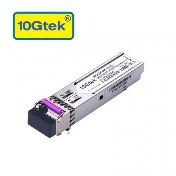 1.25Gb/s BiDi SFP Tx1490/Rx1550nm, 80KM, with DDM