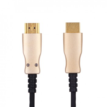 HDMI Hybrid Optical Cable, Support HDMI 2.0/HDCP 2.2, HDMI 4K 60Hz,50m