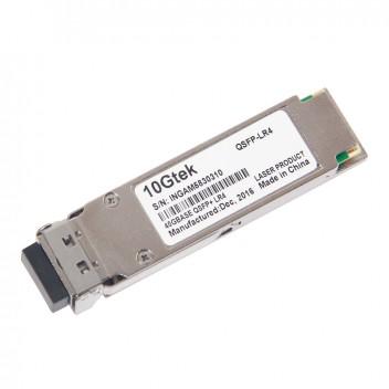 Brocade 40G-QSFP-LR4, 40G QSFP+, 1310 nm, duplex LC connector, up to 10 km transmission 2
