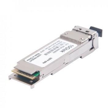 Brocade 40G-QSFP-SR4-INT, MTP (MPO) 1X8 or 1X12 ribbon connector, supports breakout to four 10GBASE-SR modules up to 100 m on OM3 multi-mode fiber 3
