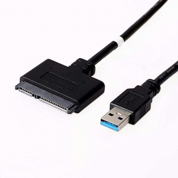 """USB 3.0 to SATA-II Adapter, for 2.5"""" /1.8"""" HDD SSD, up to 5Gbps, 0.5M 4"""