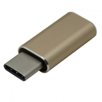 Type-C 3.1 to USB 3.0 Adapter, High speed, Gold