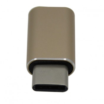 Type-C 3.1 to USB 3.0 Adapter, High speed, Gold 2