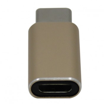 Type-C 3.1 to USB 3.0 Adapter, High speed, Gold 4