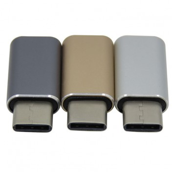 Type-C 3.1 to USB 3.0 Adapter, High speed, Gold  3