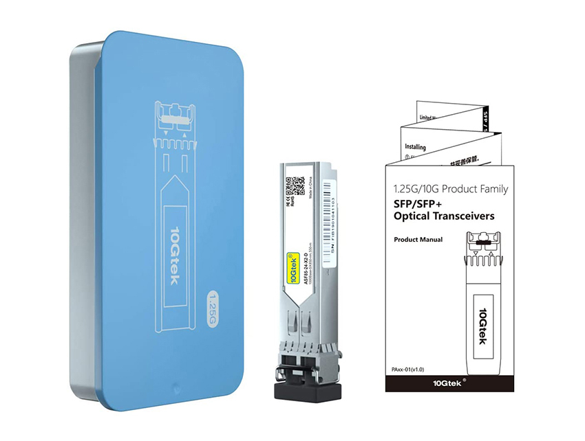 1.25G BIDI transceiver Packing box