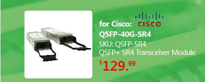 40GBASE-SR4 QSFP+ Transceiver for MMF | QSFP-40G-SR4