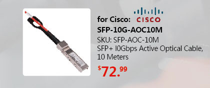 SFP+ l0Gbps Active Optical Cable 10M|SFP-10G-AOC10M