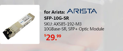 SFP+ Transceiver 10GBase-SR 850nm 300M | SFP-10G-SR