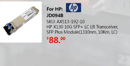 SFP+ Transceiver 10GBase-LR 1310nm 10KM | SFP-10G-LR