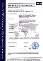 10Gtek AXS13 FCC Certification AT011408042E